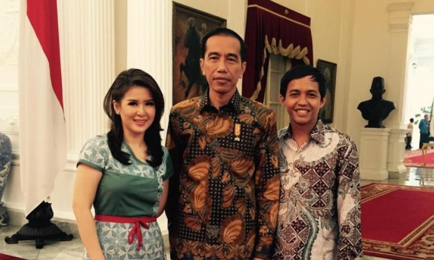 Ketua PSI bertemu Presiden Jokowi .PSI