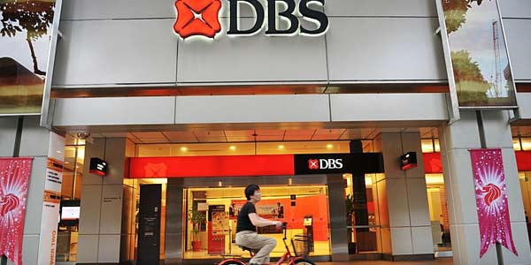 Kantor pusat DBS Bank di Singapura - The Straits Times
