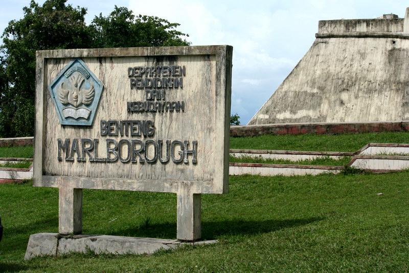 Benteng Marlborough di Bengkulu. travelinghematnusantara.wordpress.com