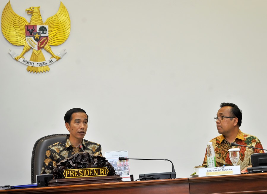 Presiden Jokowi ANTARA FOTO/Yudhi Mahatma