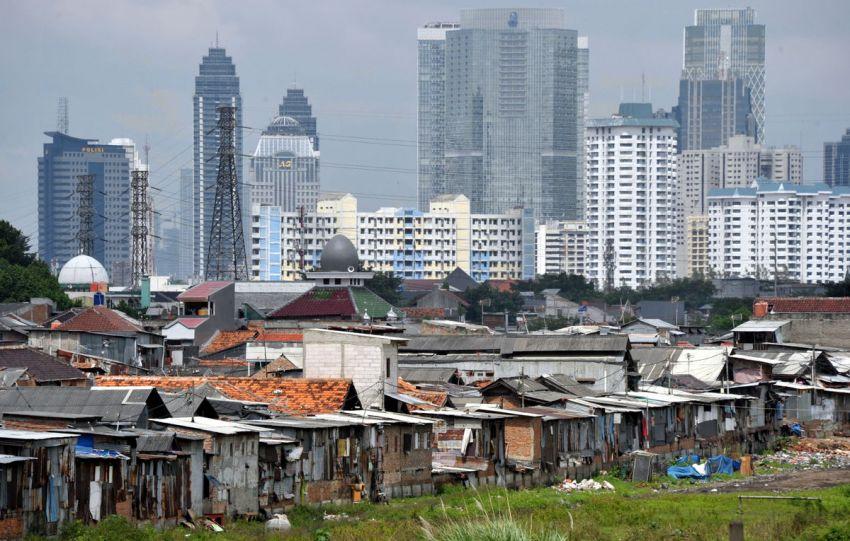 Ilustrasi Ketimpangan ekonomi di Indonesia. /ANTARA FOTO