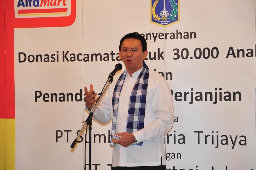 Gubernur DKI Jakarta Basuki Tjahaja Purnama. Ahok.org