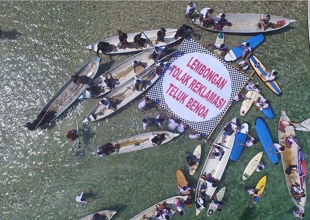 Masyarkat Bali tolak reklamasi Teluk Benoa/ Forbali13