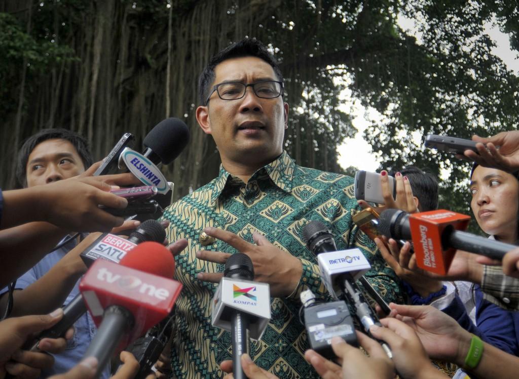Walikota Bandung, Ridwan Kamil. ANTARA FOTO/ Yudhi Mahatma