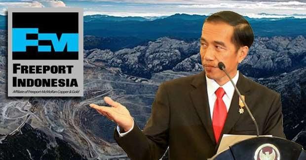 Beranikah Presiden Jokowi Melawan Freeport? | GEOTIMES Geotimes620 × 325Search by image Menyikapi PT Freeport Indonesia, Pemerintah Republik Indonesia sudah ada di jalur yang tepat, yakni mengacu pada Undang-Undang Nomor 4 Tahun 2009 tentang ...