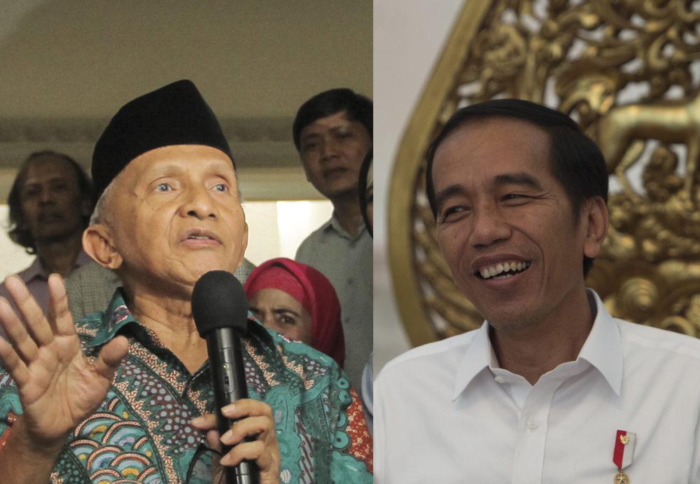Ini Dia Bocoran Hasil Pertemuan Amien Rais dan Jokowi   GEOTIMES
