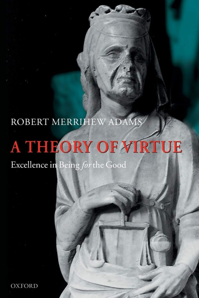 Cover depan A Theory of Virtue, Sumber: Amazone.com