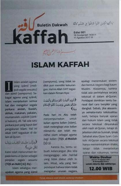 Islam Kaffah Yang Bagaimana Geotimes