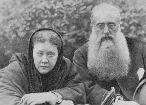 Madame Blavatsky dan Henry Steel Olcott