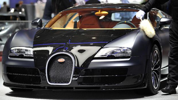 Ronaldo Car's Buggati veyron