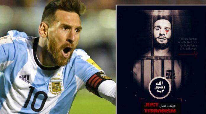 ISIS, Lionel Messi, Dan Piala Dunia 2018