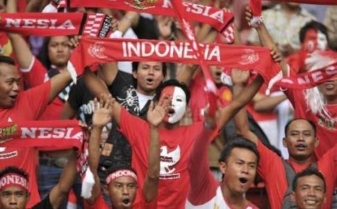 Supporter Bola Indonesia