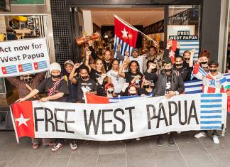 Free_West_Papua_Protest_Melbourne_August_2012