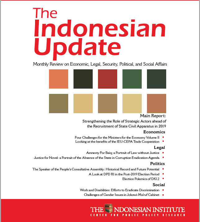 The Indonesian Update — Volume XIII, No.8 - August 2019